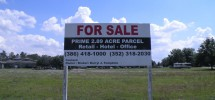 2.89 Acres for sale